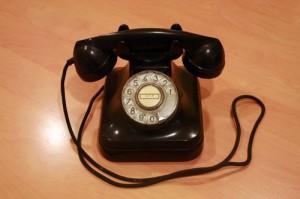 telefono baquelita 1950