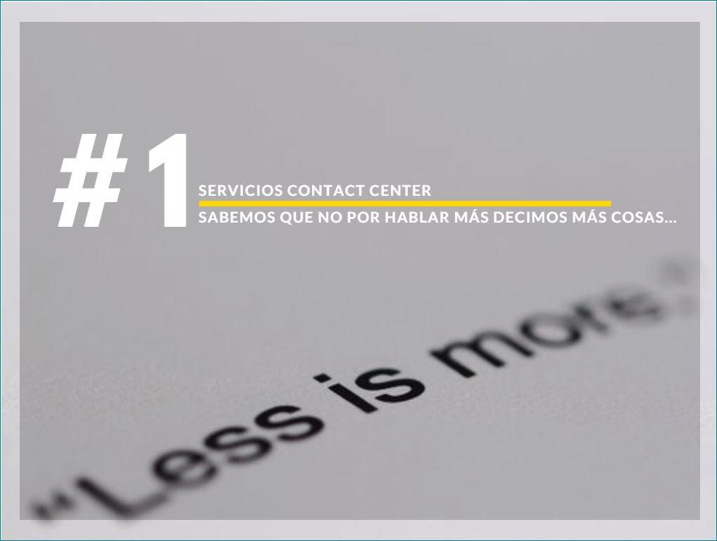 Servicios contact center telefono permanente