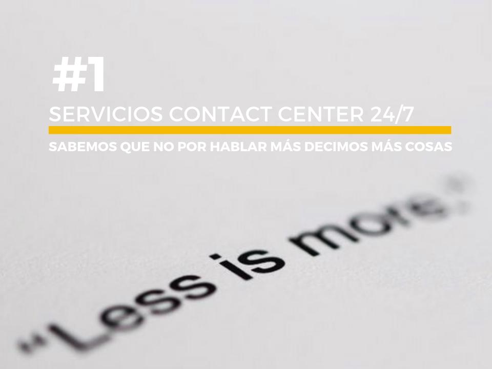 servicios de contact center