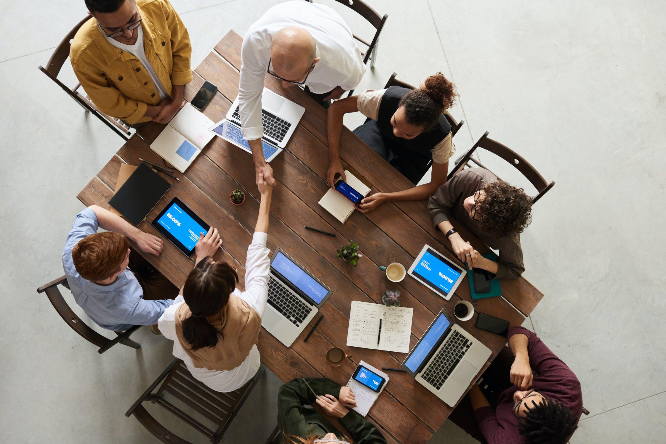 concertacion de visitas comerciales reuniones