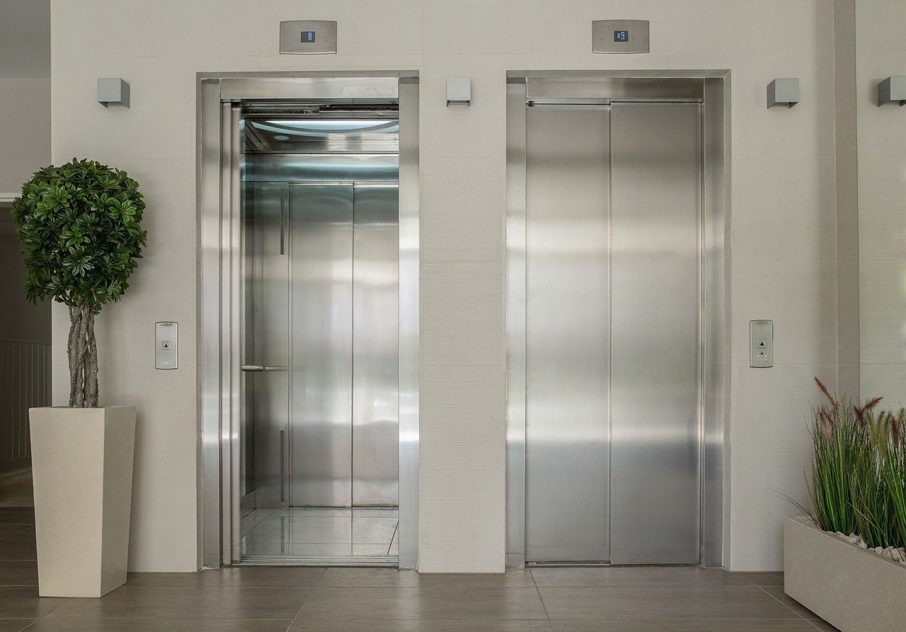 recepcion llamadas ascensores
