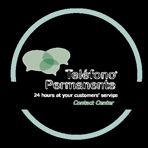 logo telefono permanente call center en footer